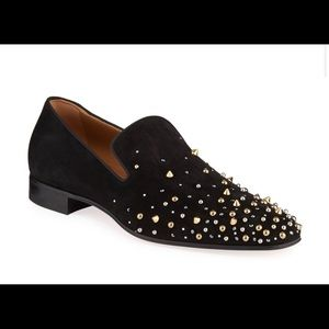 Christian Louboutin Men's Milkylion Studded